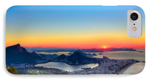 Rio Sunrise IPhone Case