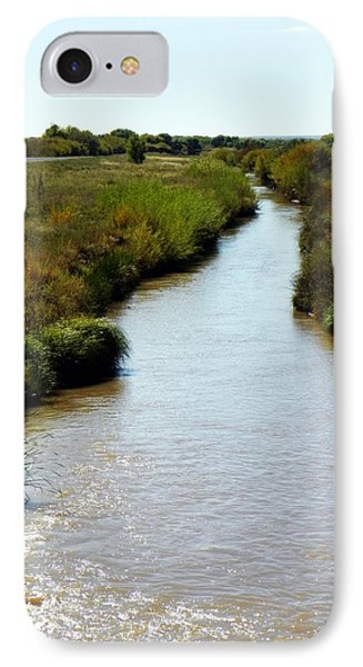 River At The Bosque IPhone Case