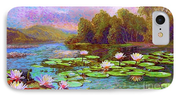 Lily iPhone 8 Case - The Wonder Of Water Lilies by Jane Small