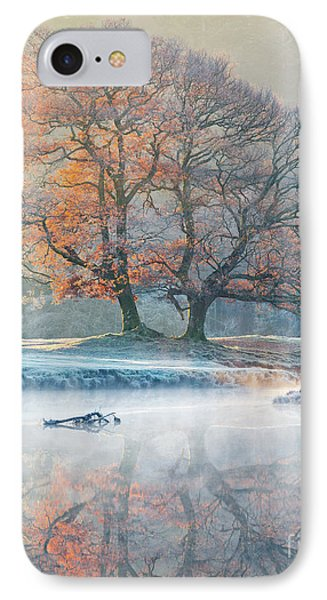 River Reflections - Winter IPhone Case