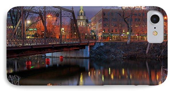 Riverplace Minneapolis Little Europe IPhone Case