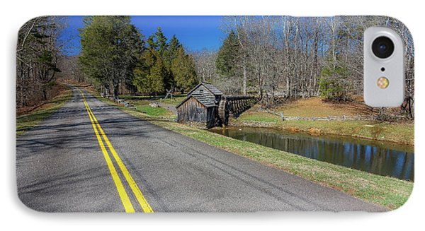 Road View Of Mabry Mill IPhone Case