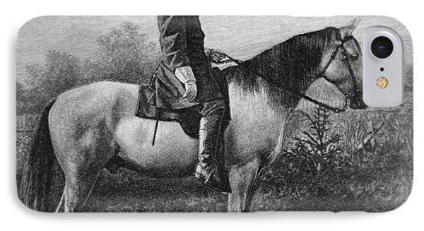 Robert E Lee On His Horse Traveler IPhone Case