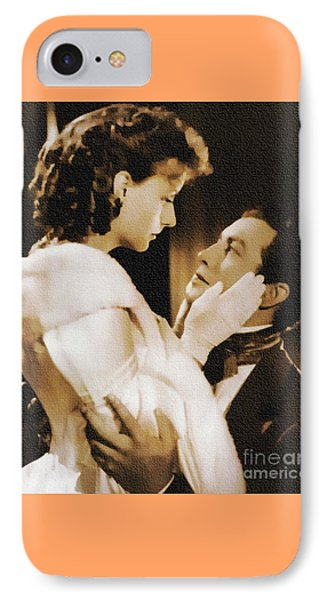 Robert Taylor And Greta Garbo IPhone Case