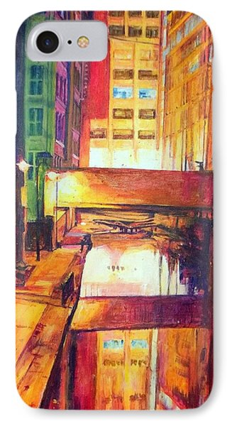 Rochdale Canal With Lock At Night IPhone Case