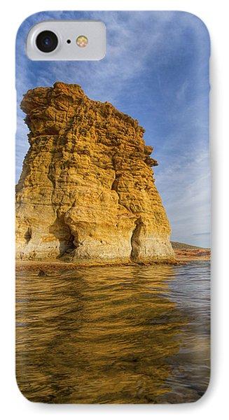 Rock Pillar At Wilson Lake IPhone Case