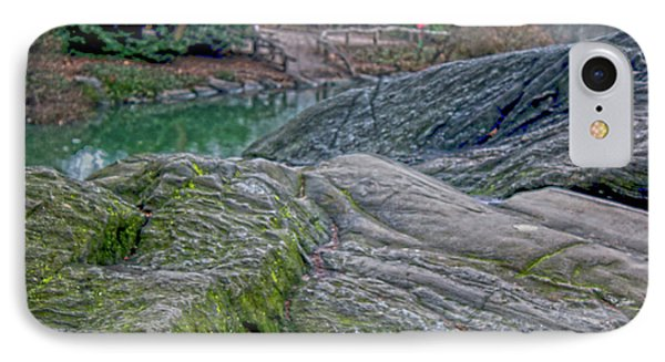 Rocks At Central Park IPhone Case