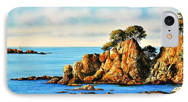 Rocks At Palafrugel,calella, Spain IPhone Case