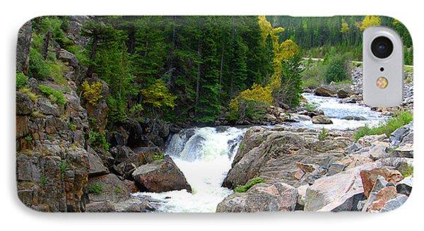 Rocky Mountain Stream IPhone Case