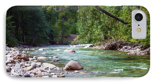 Rocky Waters In The North Cascades Landscape Photography By Omas IPhone Case