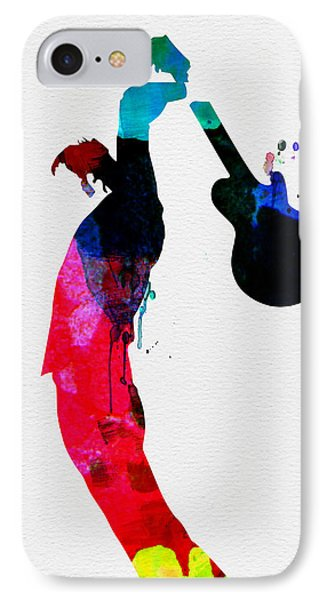 Roger Watercolor IPhone Case