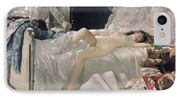 Nudes iPhone 8 Case - Rolla by Henri Gervex