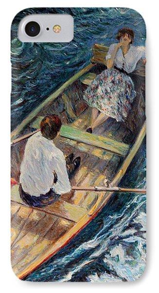 Dordogne , Beynac-et-cazenac , France ,romantic Boat Trip IPhone Case