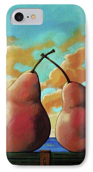 Romantic Pear IPhone Case
