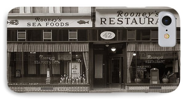 Rooney's Restaurant Wilkes Barre Pa 1940s IPhone Case
