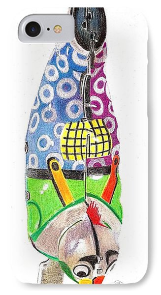 Rooster Clown IPhone Case