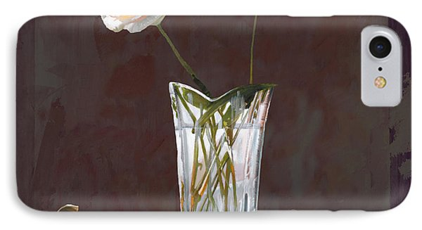 Rose iPhone 8 Case - Rosa Rosae by Guido Borelli