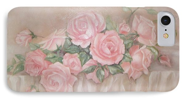 Rose Abundance Painting IPhone Case