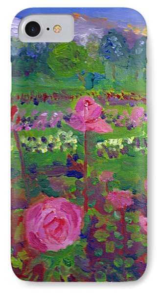 Rose Gardens In Minneapolis IPhone Case