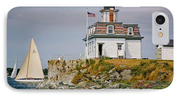 Rose Island Light IPhone Case