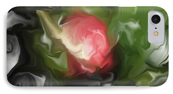 Rose On Troubled Water IPhone Case