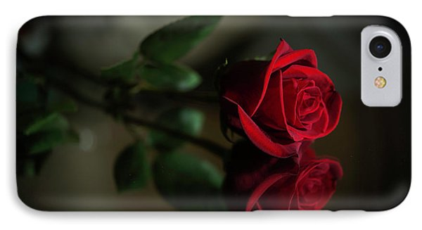 Rose Reflected IPhone Case