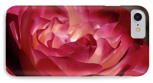 Rosy Closeup IPhone Case