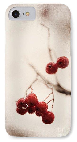 Rote Beeren - Red Berries IPhone Case