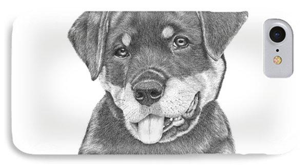 Rottweiler Puppy- Chloe IPhone Case