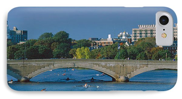 Rowers On Charles River, Harvard IPhone Case