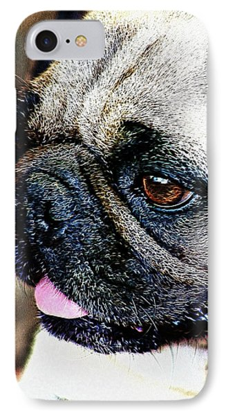 Roxy The Pug IPhone Case