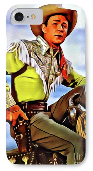 Roy Rogers, Hollywood Legend IPhone Case