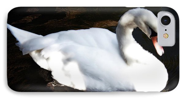 Royal Swan IPhone Case