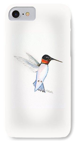 Ruby Hummer IPhone Case