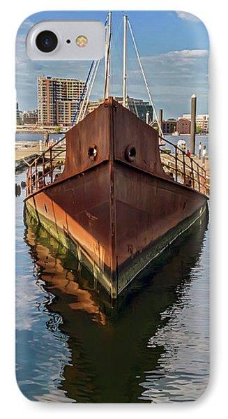 Rust Bucket - Baltimore Museum Of Industry IPhone Case