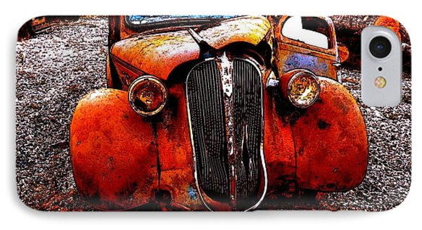 Rust In Peace IPhone Case