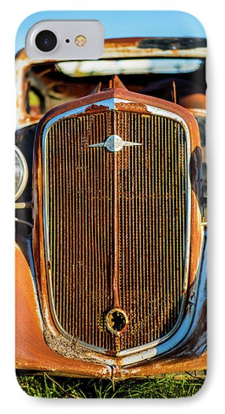 Rusted Chevrolet IPhone Case