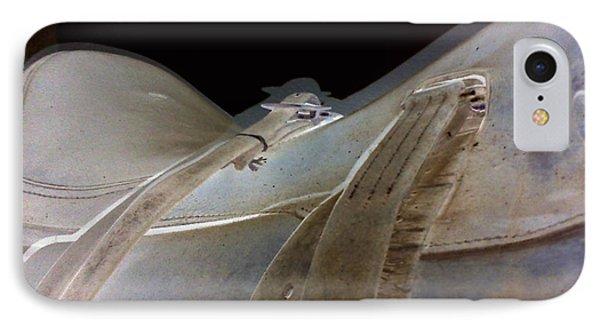 iPhone 8 Case - Rustic Horse Saddle by Orphelia Aristal