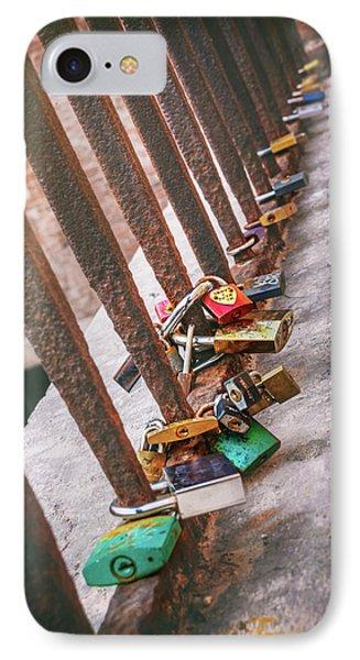 Rusty Love In Verona IPhone Case
