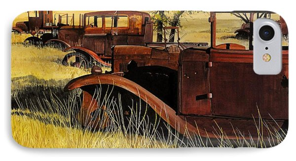 Rusty Meadows IPhone Case