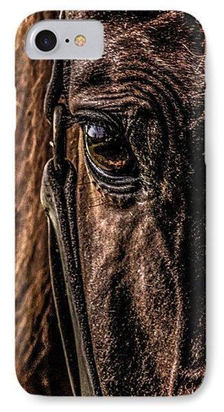 Sad Eyes IPhone Case