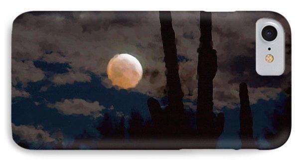 Saguaro Blood Moon IIi IPhone Case