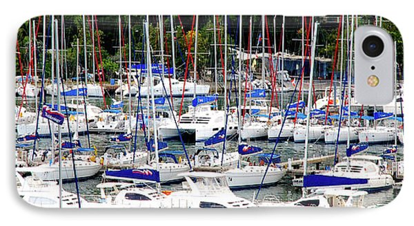 Sailboats IPhone Case