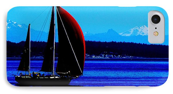 Sailing At Port Townsend Washington State IPhone Case