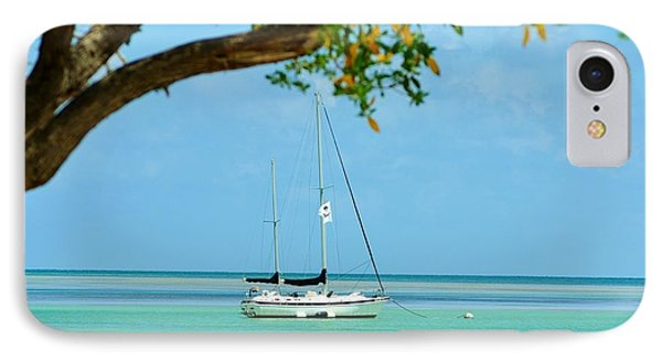 Sailing Away To Key Largo IPhone Case