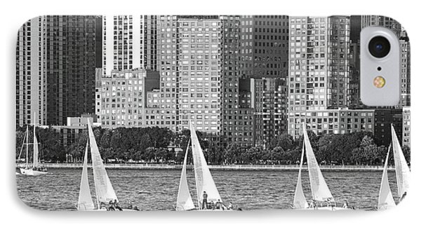 Sailing In New York Harbor No. 3-1 IPhone Case