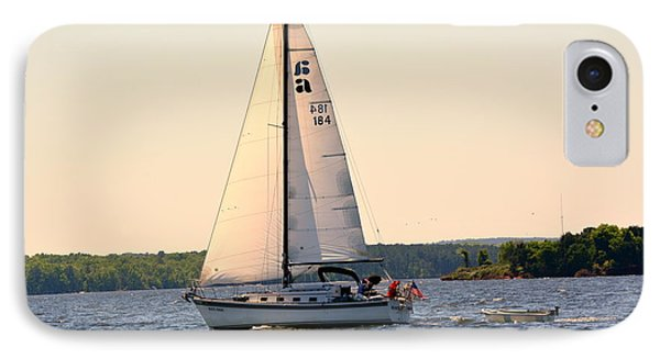 Sailing On Lake Murray Sc IPhone Case