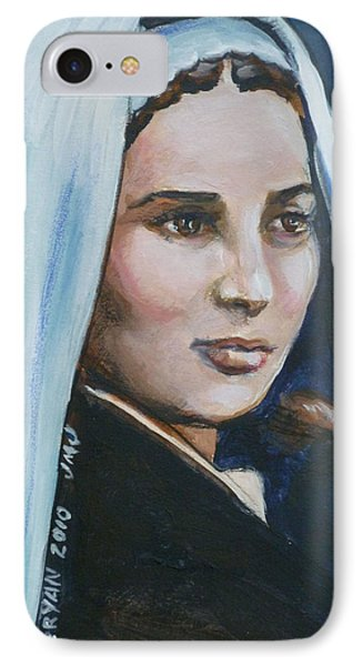 Saint Bernadette Soubirous IPhone Case