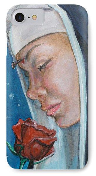 Saint Rita Of Cascia IPhone Case