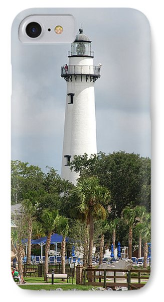 Saint Simons Island Light IPhone Case